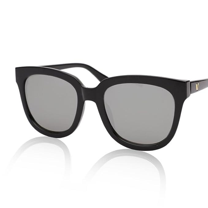 ZWX Gafas de sol de color/Unas gafas para cara redonda ...
