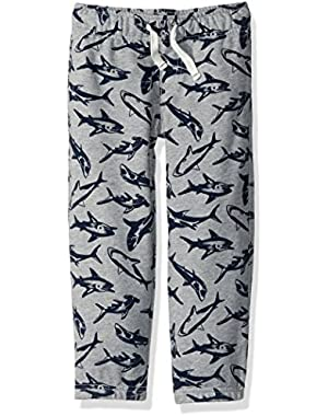 Baby Toddler Boys' Shark Knit Pants