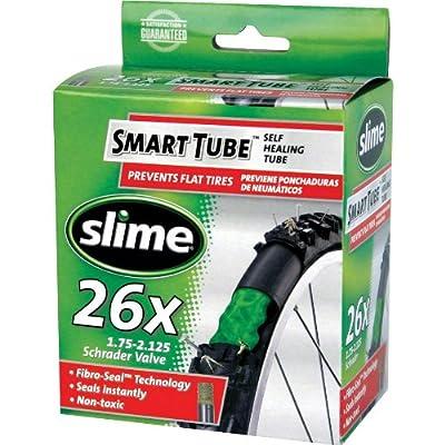 "Slime 30044 Self-Sealing Smart Tube, Schrader Valve (26 x 1-3/8"")"