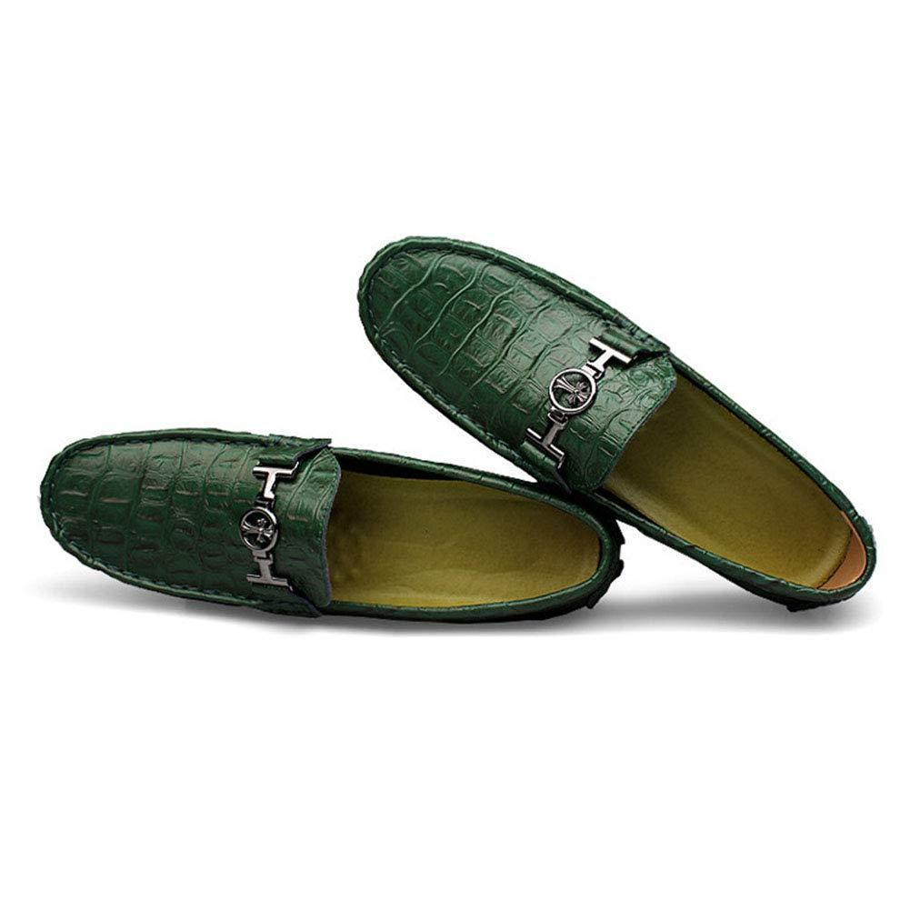 Herrenschuhe, britische Frühsommer-Peas Beanie Beanie Schuhe Fahren Schuhe Männer Extra Extra Extra große Größe Slip auf Leder Schuhe Flat Loafers,b,40 B07NWGS111 Sport- & Outdoorschuhe Einzigartig d3c591