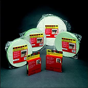 3M T9114026 Double Sided Foam Squares 1 x 1 Pack of 1000
