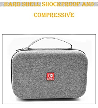 ACHICOO Portable Hard Shell Case for Nintend sw/Itch Water-Resistent Carrying Storage Bag