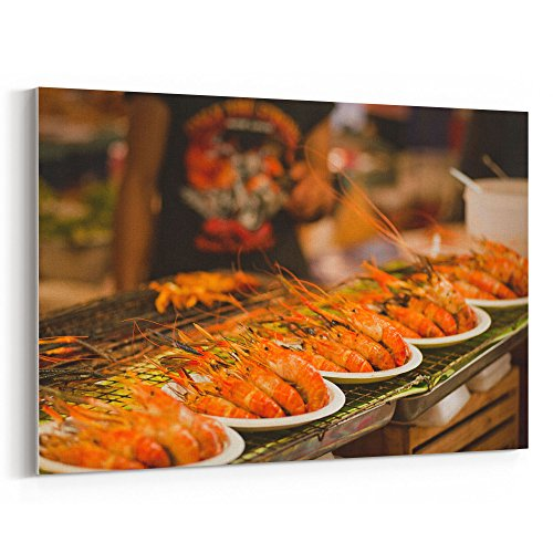 Epicure Grill (Westlake Art Cuisine Food - 12x18 Canvas Print Wall Art - Canvas Stretched Gallery Wrap Modern Picture Photography Artwork - Ready to Hang 12x18 Inch (8F95-CAE52))