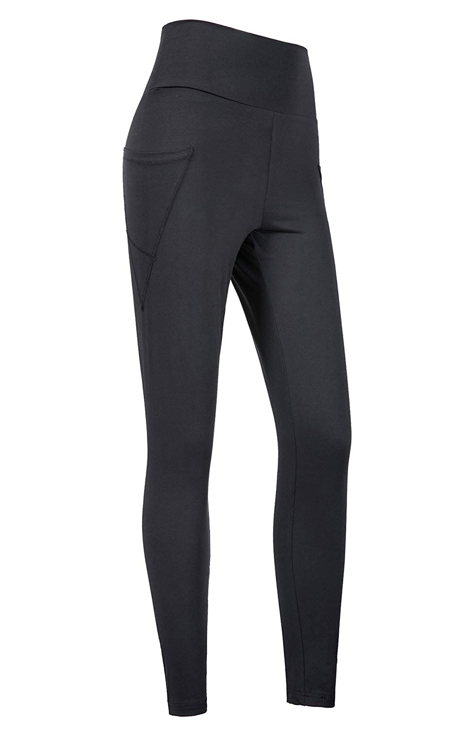 Sviuse Women Yoga Pants High-Waist Tummy Control Workout Running 4 Way Stretch Leggings with Pockets
