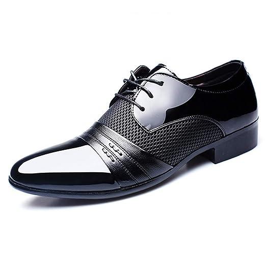HOUYAZHAN Zapatos de Vestir de Hombre para Hombres. Zapatos ...