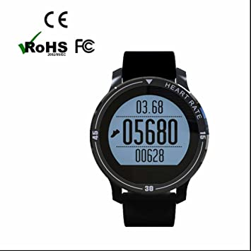 Bluetooth Montre Intelligente Montre connectée Smart watch,Podomètres,Design Elégant,Fitness Tracker,