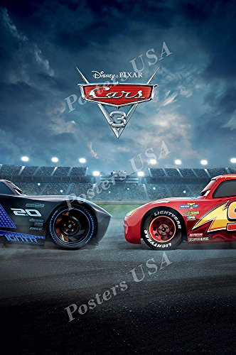 Posters USA - Disney Pixar Cars 3 GLOSSY FINISH Movie Poster - FIL426 (24