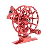 Ice Fishing Reel, Full Metal Right Handed Wheel Reel Tackle Gear Accessory