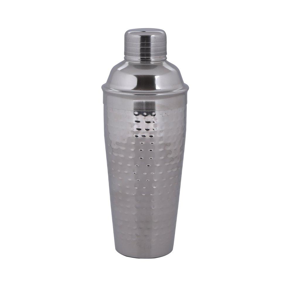 Drink  Shaker Mocktail Shaker Kosma Stainless Steel Cocktail Shaker Hammered finish 750 ml
