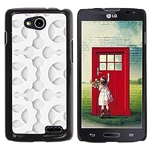 Be Good Phone Accessory // Dura Cáscara cubierta Protectora Caso Carcasa Funda de Protección para LG OPTIMUS L90 / D415 // Pattern Cog Wheel Order Shadow Art