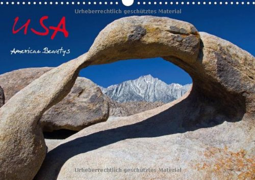 USA - American Beautys (Wandkalender 2014 DIN A3 quer): Colorful Photography (Monatskalender, 14 Seiten)