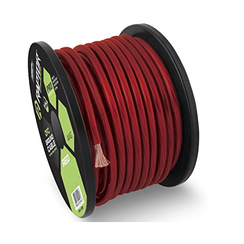 Raptor R5R4-100 PRO SERIES Red Power Cable