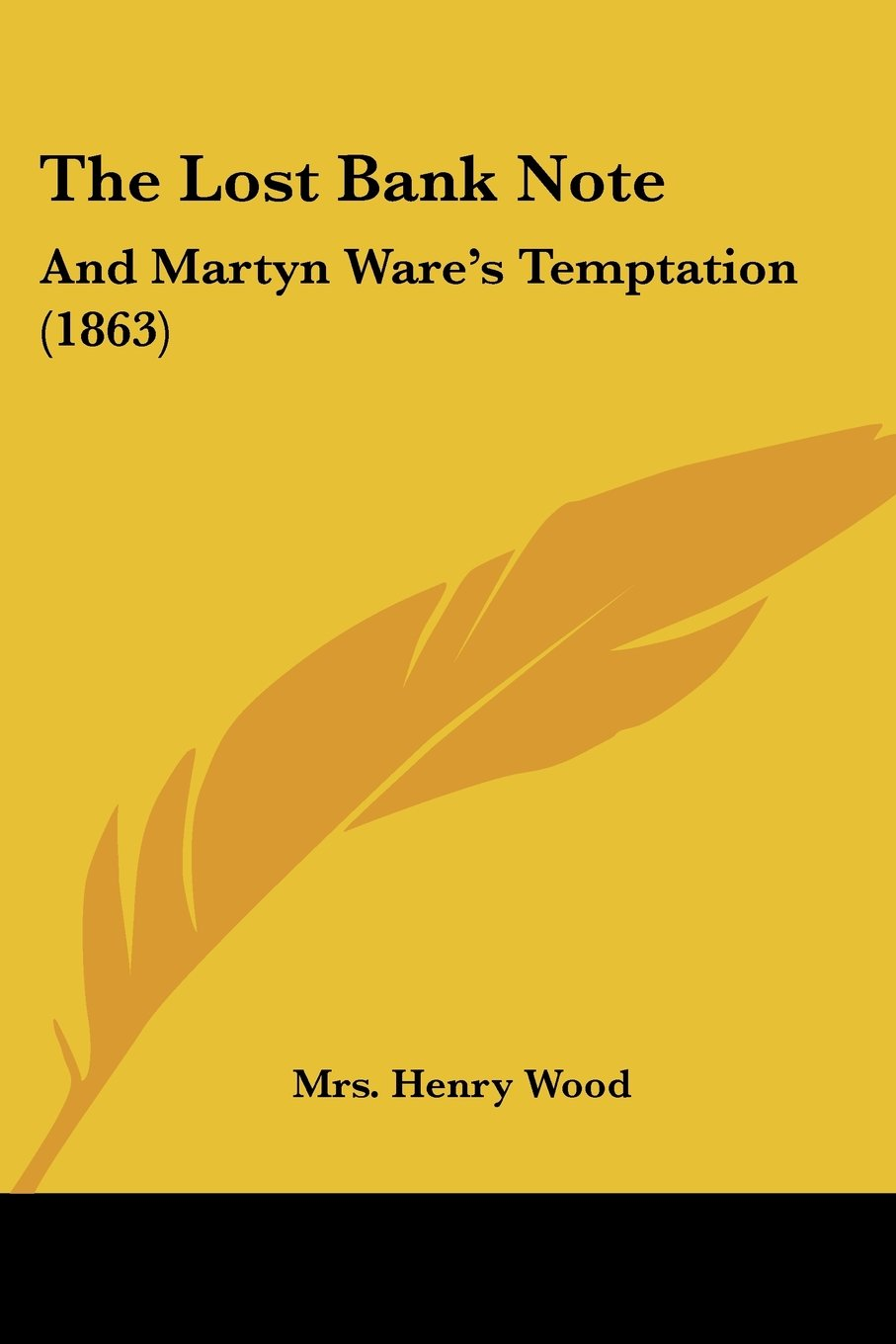 Download The Lost Bank Note: And Martyn Ware's Temptation (1863) pdf epub
