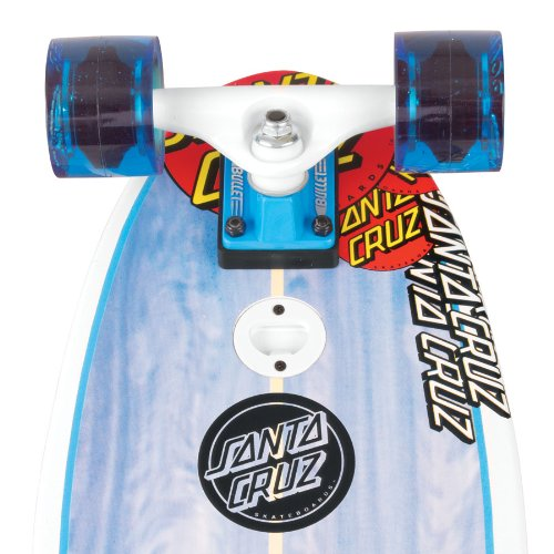 Santa Cruz Skate Land Shark Sk8 Powerply Complete Skateboard