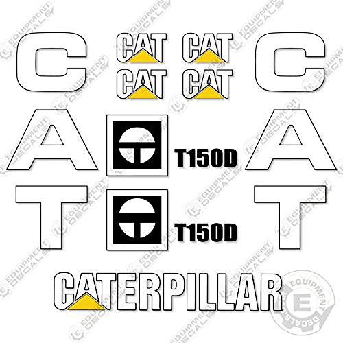 Caterpillar T150D Forklift Decal Kit