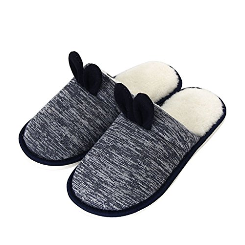 Slippers DWW Cotton Indoor Indoors Floor Thick Warm Non-Slip Shoes Handmade Pattern 1 6r02Z61k0A