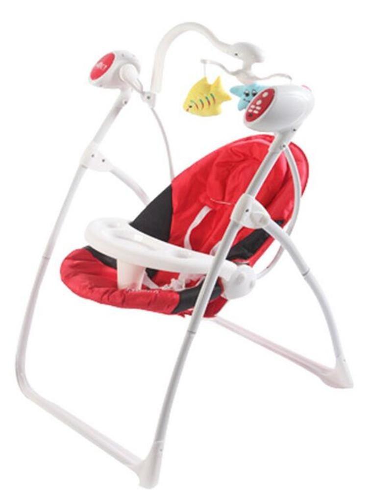NWYJR Kleinkind Rocker Neugeborene geeignet Vibration Elektrische Appease Musik-Timing Essteller Baby-Schaukel