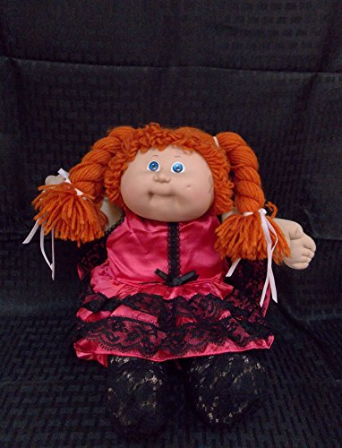 CABBAGE PATCH KIDS Red Braid/Blue Eyes with Pink (Fronia for sale  Delivered anywhere in USA