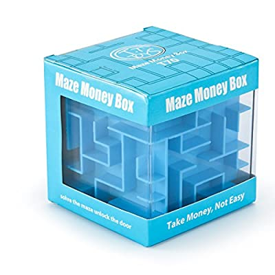FIFATA Maze Puzzles Box adult toys banks For kids Teenagers