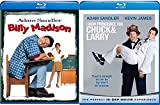 I Now Pronounce You Chuck & Larry Blu Ray + Billy Madison Comedy Double Feature Adam Sandler Bundle Movie Set