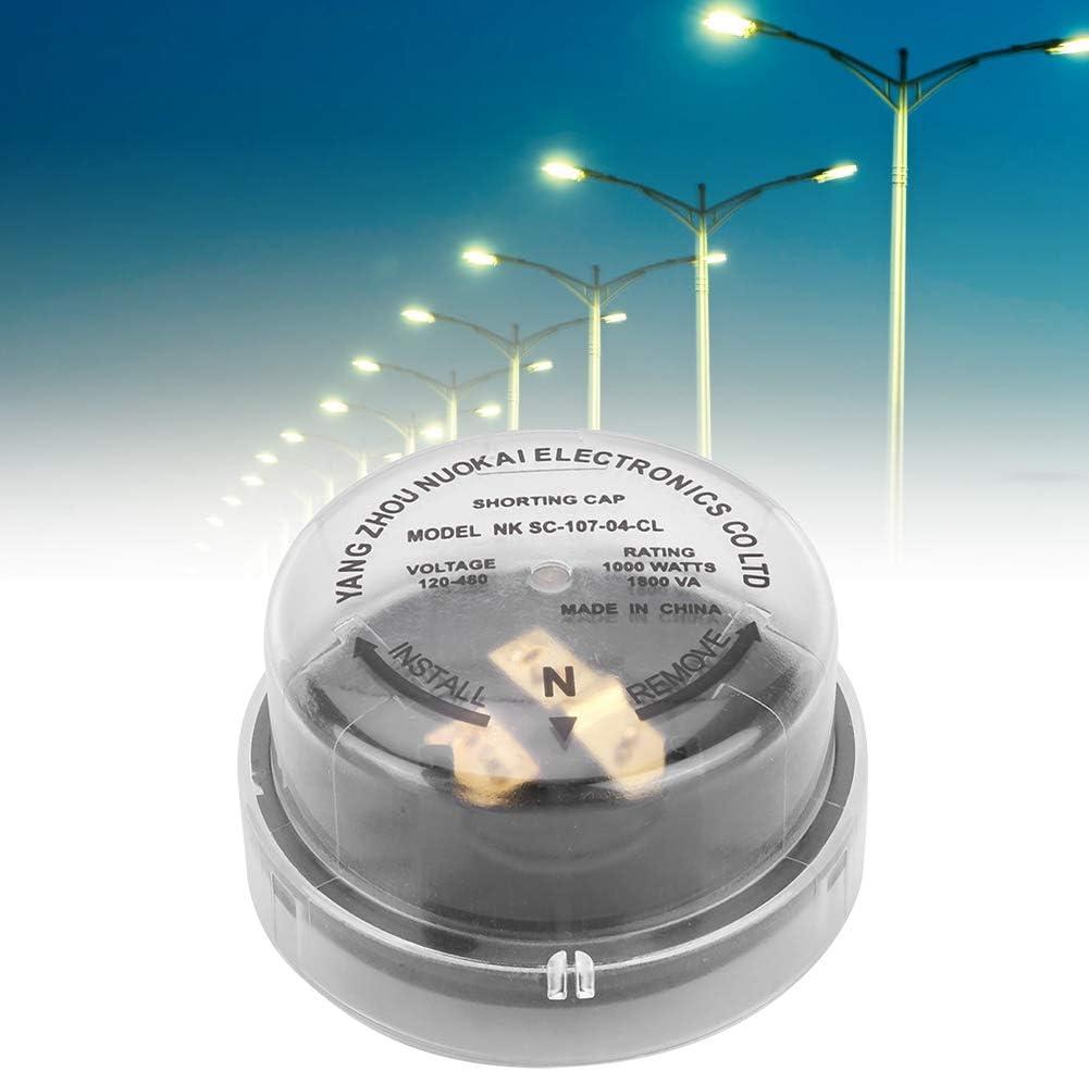 Controlador de luz de Calle a Prueba de Lluvia Rotarys, 1000W 1800VA 120-480V Receptáculo de fotocélula Twistlock Tapa de protección Temporal