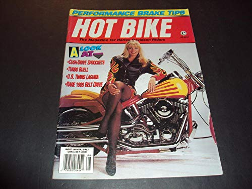 Hot Bike Aug 1993 Performance Brake Tips, Rare 1909 Belt Drive