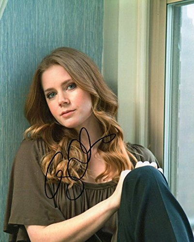 Photo Amy Adams Signed Autographed 8 x 10