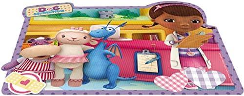 30 x 25 cm Joy Toy Set de Table Doc McStuffins de lentille PVC Multicolore