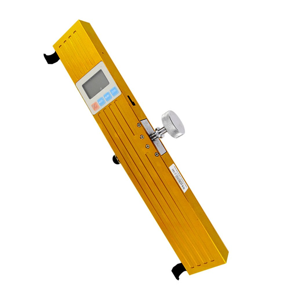 VTSYIQI Digital Elevator Rope Tension Meter Tester Tensionmeter 300//500//1000//3000//5000N Elevator Wire Rope Tension Meter With Resolution 1N Yellow and White