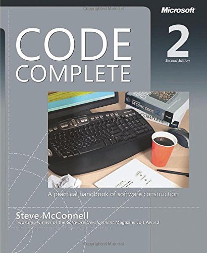 Code Complete: A Practical Handbook of Software Construction, Second Edition cover