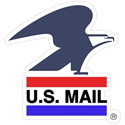 Andrews Mall U.S. Mail (Old Logo) Stickers (3 Pcs/Pack): Kitchen & Dining