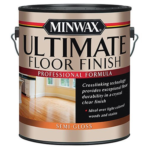 Gloss Hardwood Floors - Minwax 131020000 Ultimate Floor Finish, 1 gallon, Semi-Gloss