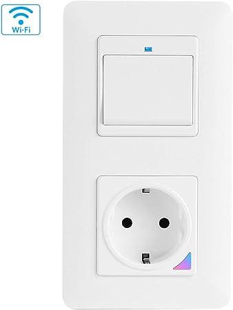 WLAN-Unterputz-Lichtschalter und Dimmer mit App und Sprachsteuerung