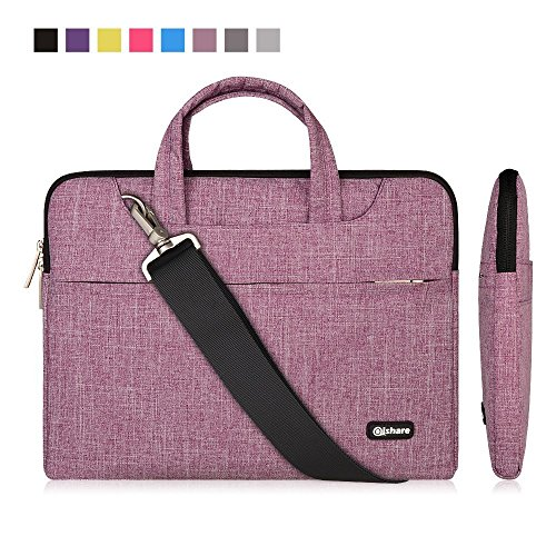 ple Lines Multi-functional Business Briefcase Sleeve/Messenger Bag/ Shoulder bag/Handbag for Acer / Asus / Dell / Fujitsu / Lenovo / Hp / Samsung / Sony (Purple Lines, 13.3'') (Fujitsu Briefcase)