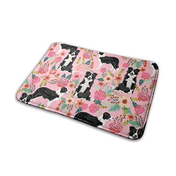 "Pillow Bags Best Dog Designs Best Dog Prints Cute Border Collies Fabrics Floor Bath Entrance Rug Mat Absorbent Indoor Bathroom Decor Doormats Rubber Non Slip 15.7"" X 23.5"" 1"