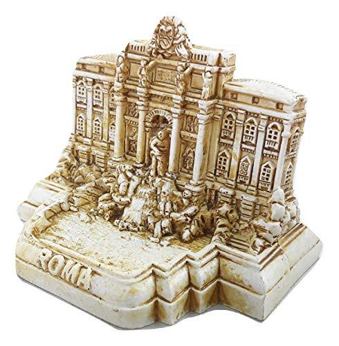 Small Model Statue Rome Miniature Fontana di Trevi/Trevi Fountain Italy Italian