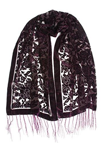 Bohomonde Beatrice Floral Burnout Fringe product image