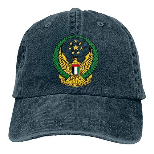 United Arab Emirates Armed Forces Adjustable Baseball Cap Dad Hat Navy