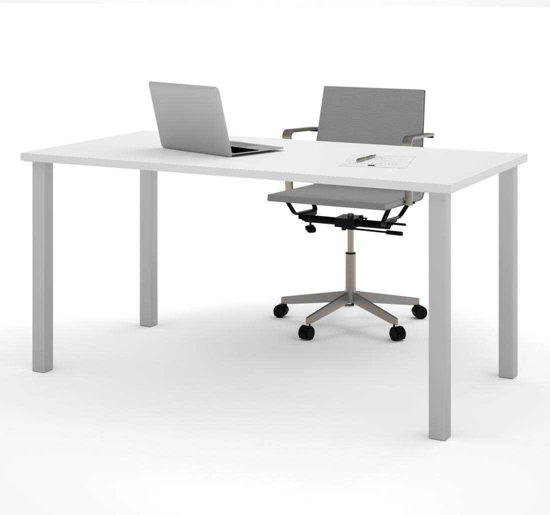 Fantastic 30 X 60 Table Desk With Square Metal Legs Universel By Download Free Architecture Designs Pushbritishbridgeorg