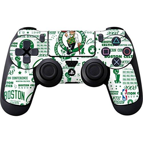Boston Celtics PS4 Controller Skin - Boston Celtics Historic Blast | NBA & Skinit Skin by Skinit