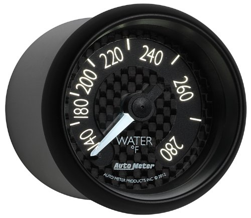 Auto Meter 8031 GT Series Mechanical Water Temperature Gauge by Auto Meter (Image #5)