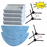 robot accessories - FYH New Cleaning Robot Vacuum HEPA Filter Side Brushes for ILIFE V3s V5s V5s pro Robot Vacuum