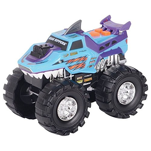 (Toystate Road Rippers Light and Sound Shark 4X4 Monster Truck)