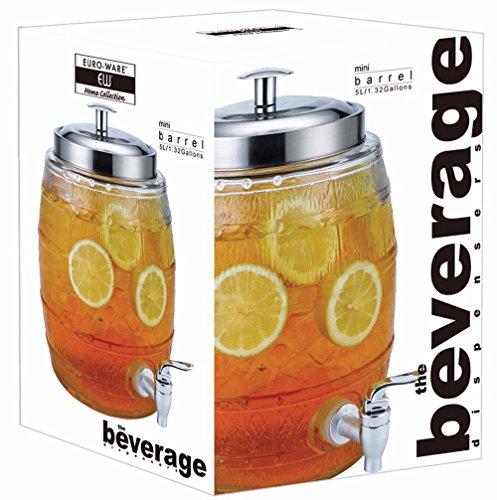 glass barrel beverage dispenser - 2