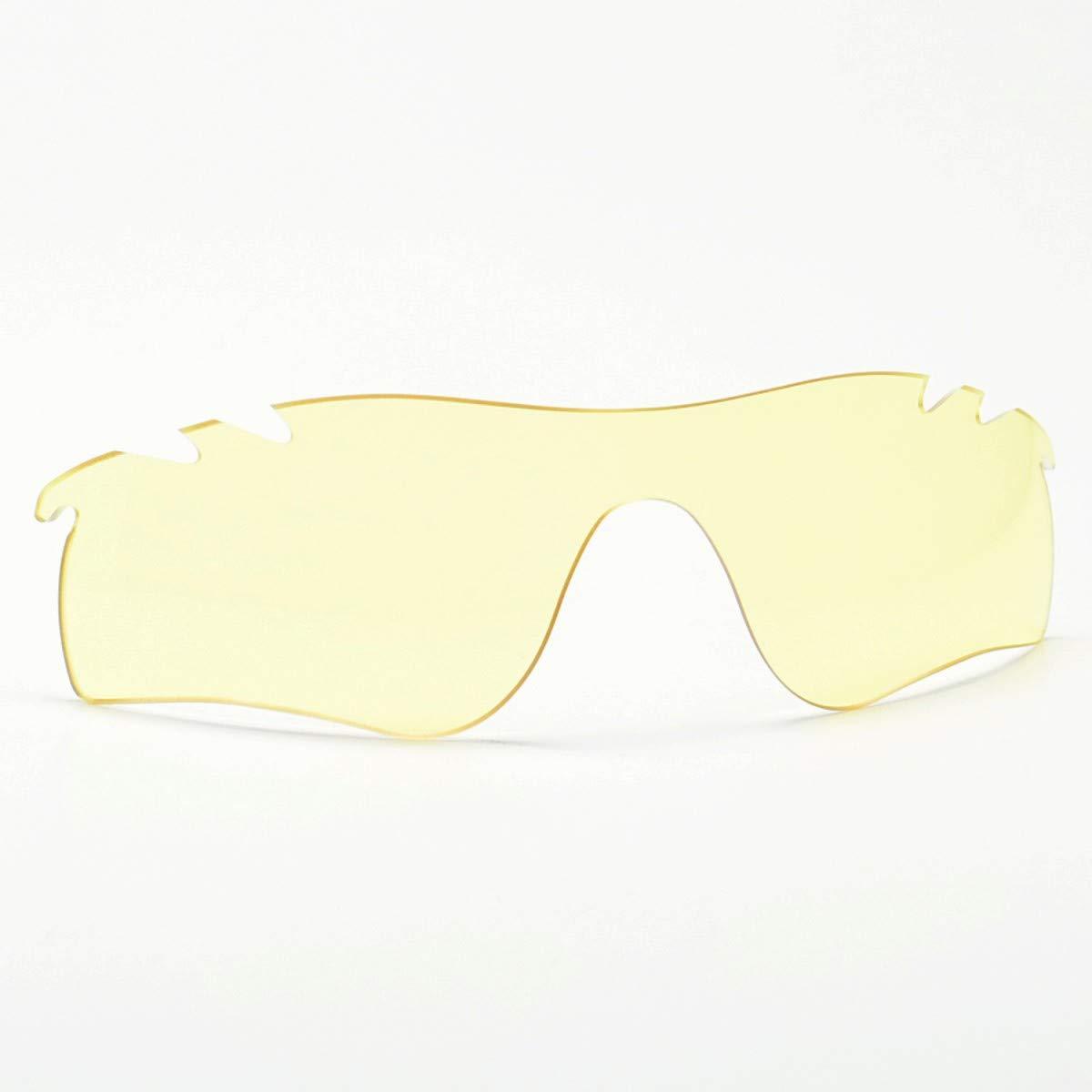 GOODMAN LENS MANUFACTURE グッドマンレンズマニュファクチュー OAKLEY RADARLOCK オークリー レーダーロック用交換レンズ ライトイエロー 偏光フィルム内蔵 ※レンズのみ   B07NJF2PVS