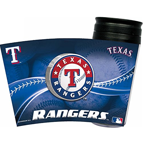 Rangers Coffee Mug (MLB Texas Rangers Insulated Travel Tumbler)