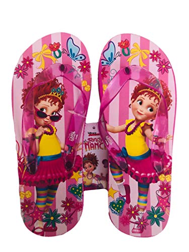 Fancy Nancy Flip Flops Summer Sandals Girls Size 2/3, 11/12 & 13/1 (Pink, -