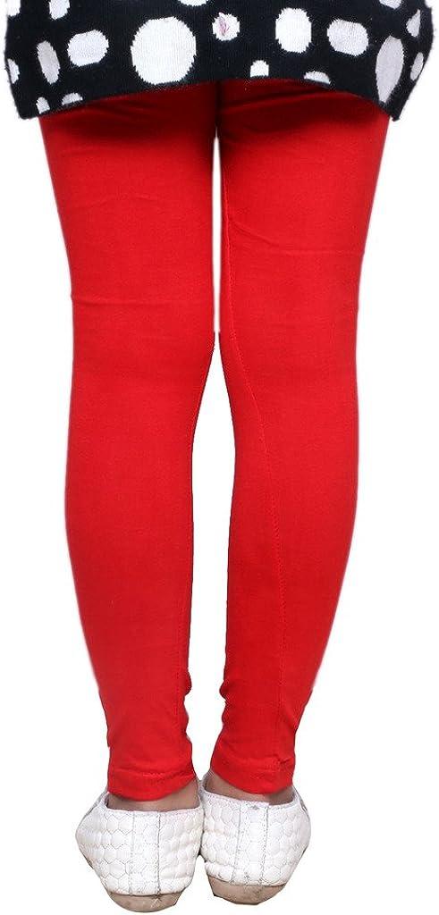 Indistar Big Girls Super Soft Cotton Leggings