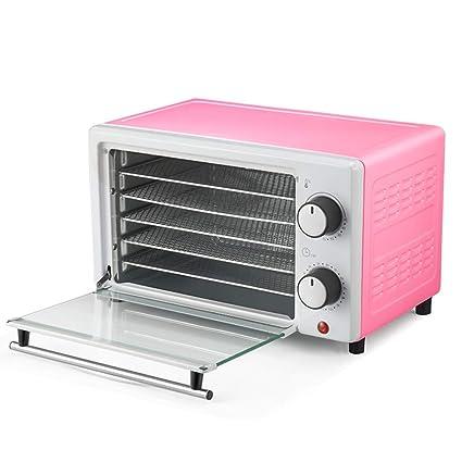 Secador de alimentos - Color acero, 5 capas, control mecánico, control dual inteligente