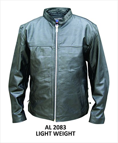 Mens Lambskin Light-Weight Scooter Jacket - 44 - AL2083
